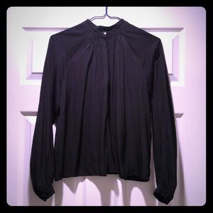 Aritzia Black blouse size XS